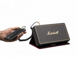 Marshall Stockwell enceinte bluetooth cable