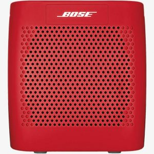 bose soundlink color enceinte bluetooth rouge