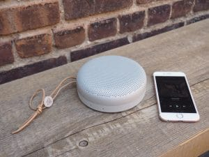 mini enceintes Bluetooth beoplay a1