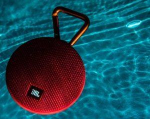 JBL Clip 2 résistance à l'eau