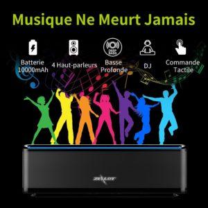 ZEALOT S7 Enceinte Bluetooth Portable-