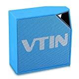 Vtin Cuber Enceinte d'extérieur Portable Bluetooth 4.0 Bleu